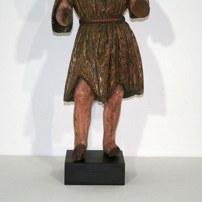 Spanish 18th Century Baroque Christ Figure For Sale 2