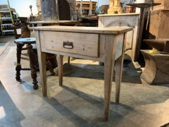 Spanish 18th Century Primitive Side Table