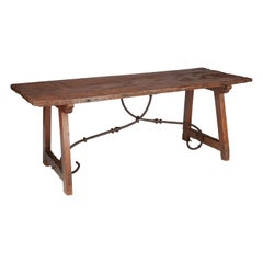 Spanish 18th Century Refectory Dining Table