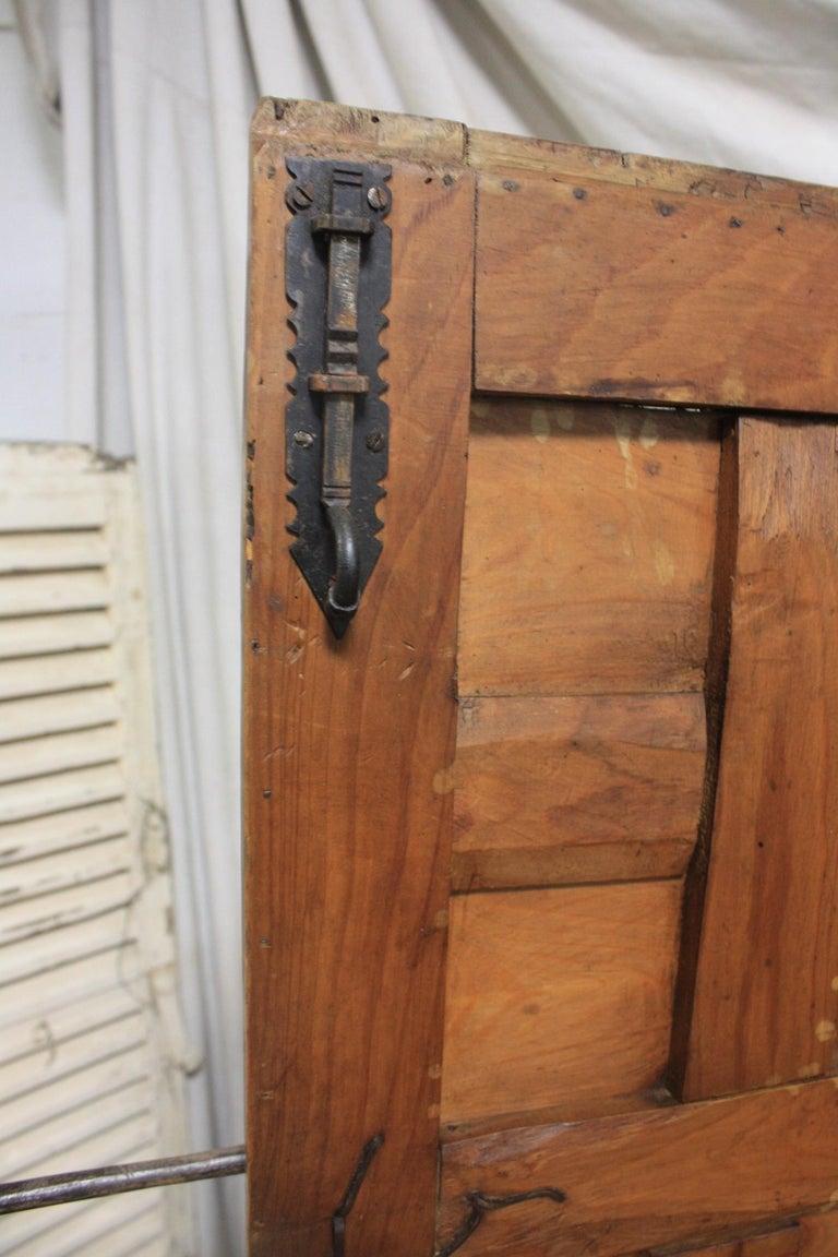 Spanish 18th Century Small Wardrobe For Sale 6