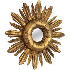 Baroque Sunburst Mirrors