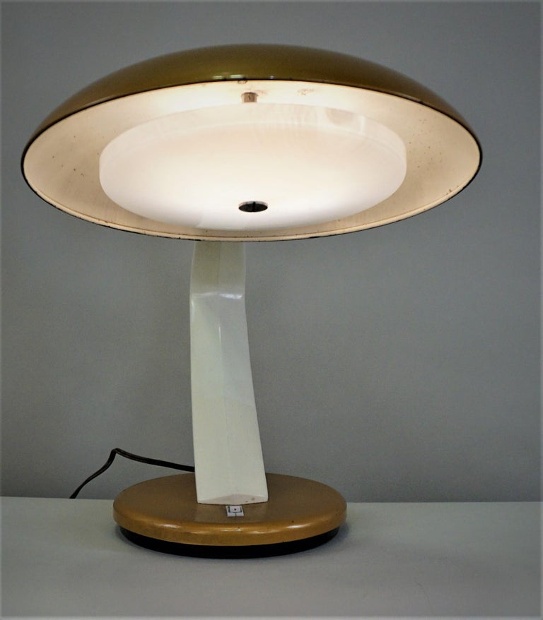 Spanish 1960s Desk Lamp by Fase In Good Condition For Sale In Fairfax, VA