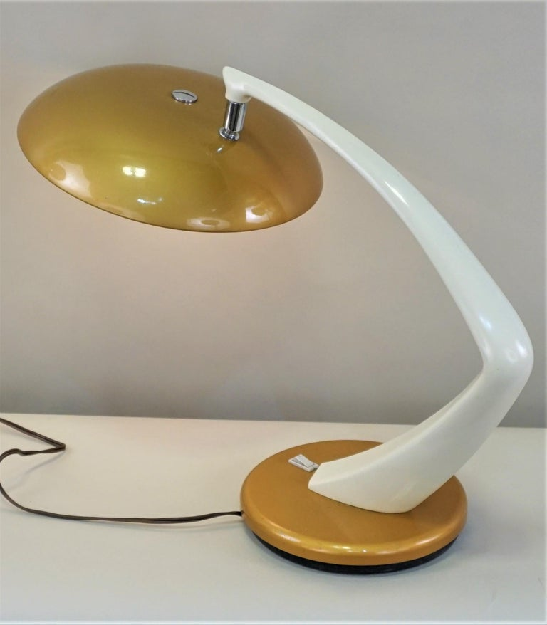 Spanish 1960s Desk Lamp by Fase For Sale 1