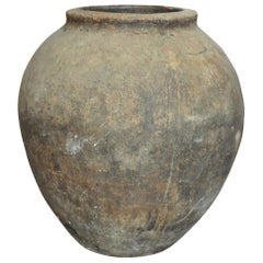 Spanish 19th Century Terracotta Pot