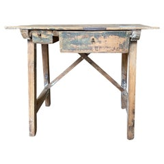 Spanish 19th Century Writing Table, Side Table