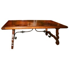 Spanish 8-Seat Dining Table