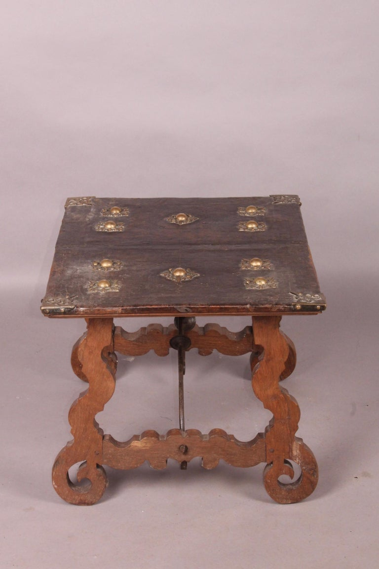 Spanish Antique Low Table For Sale 7