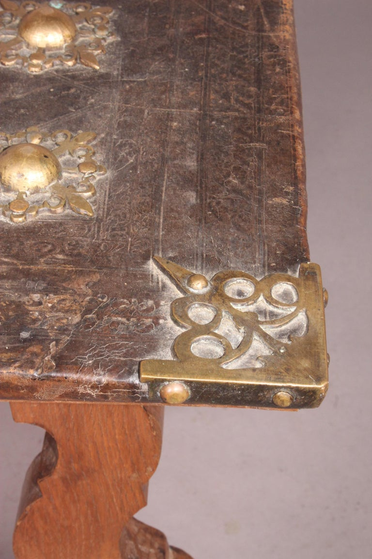 Spanish Antique Low Table For Sale 8