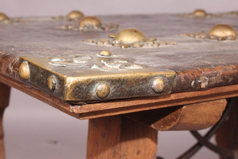 Spanish antique low table.