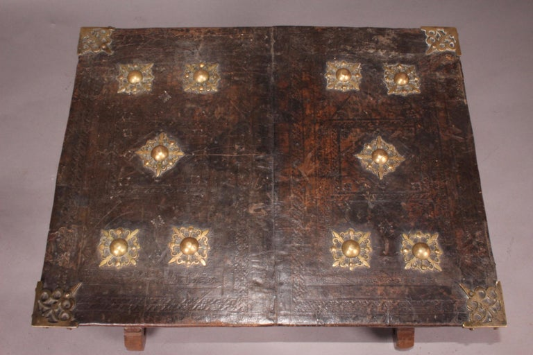 18th Century Spanish Antique Low Table For Sale
