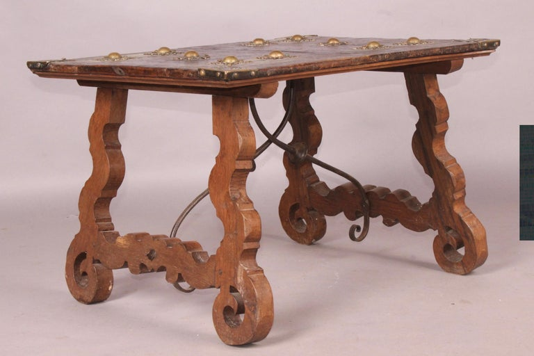 Spanish Antique Low Table For Sale 1
