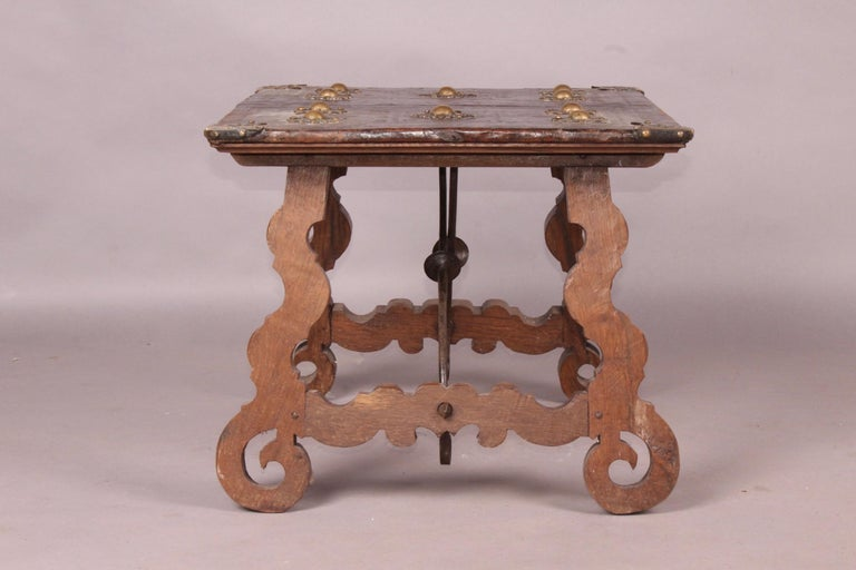 Spanish Antique Low Table For Sale 3