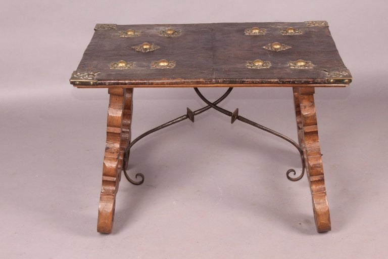 Spanish Antique Low Table For Sale 4