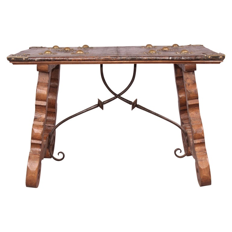 Spanish Antique Low Table For Sale