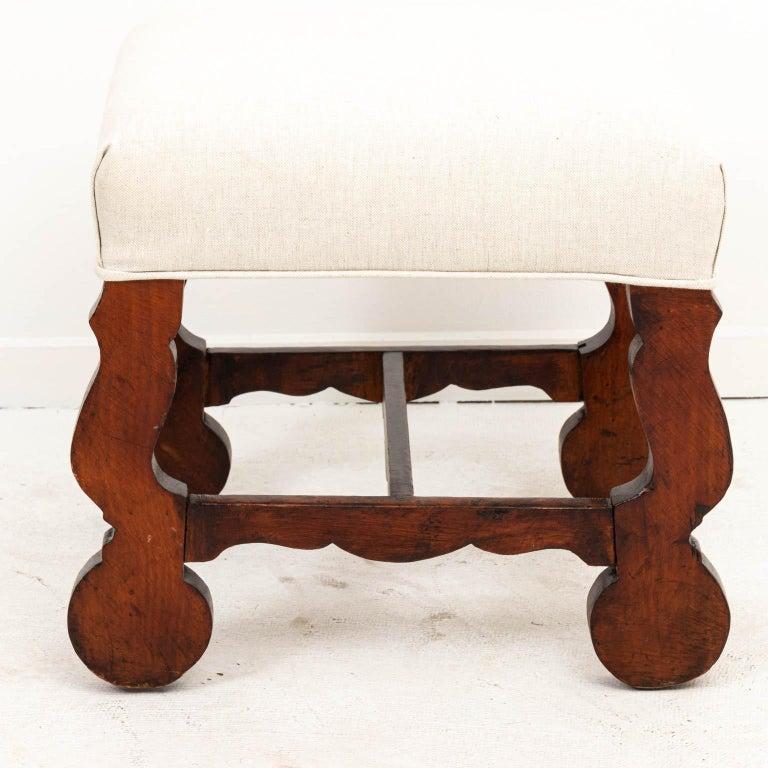 Upholstery Spanish Baroque Bench