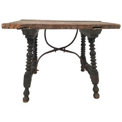 Spanish Baroque Style Side Table