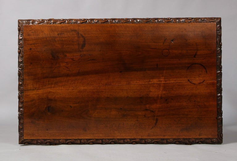 18th Century Spanish Baroque Walnut Table For Sale