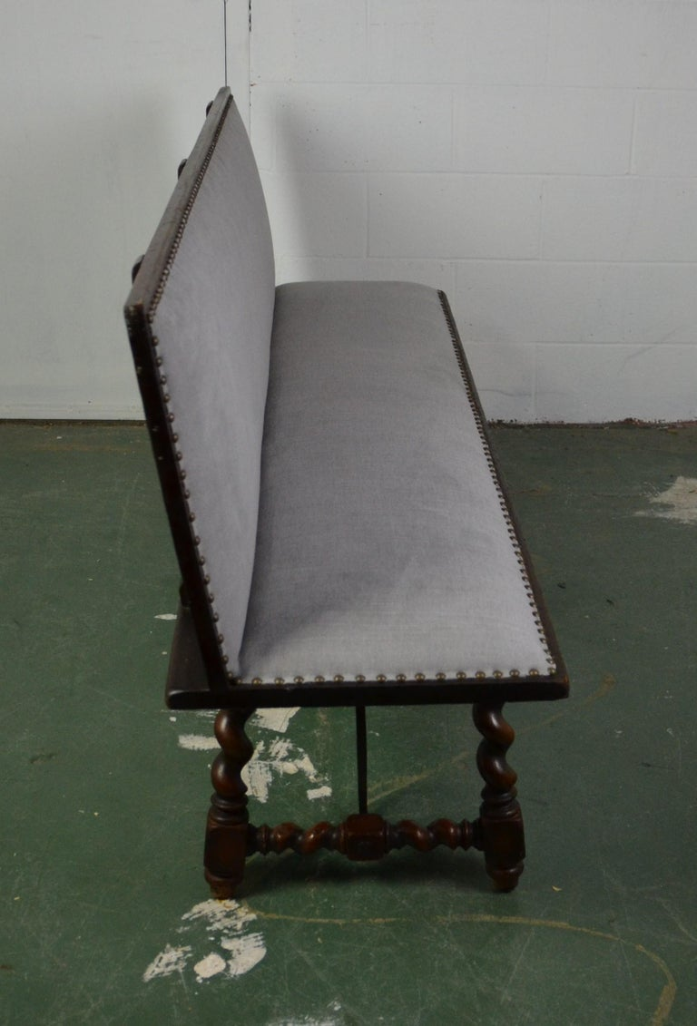 Spanish Bench In Good Condition For Sale In Pasadena, CA