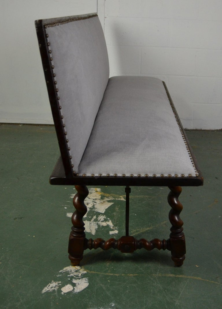Early 20th Century Spanish Bench For Sale
