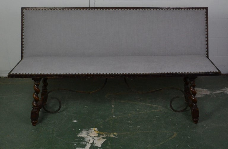 Iron Spanish Bench For Sale