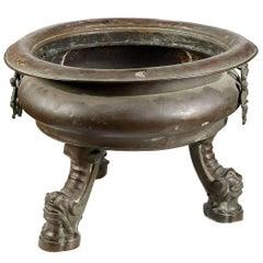 Spanish Bronze Brazier, 18th Century