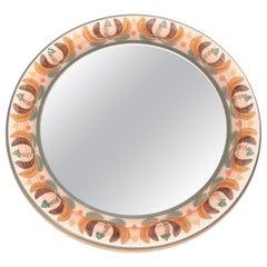 Spanish Ceramic Mirror