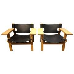 Spanish Chairs BM 2226 by Børge Mogensen
