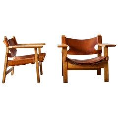 Spanish Chairs by Børge Mogensen