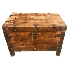 Spanish Colonial Trunk, 19th Century