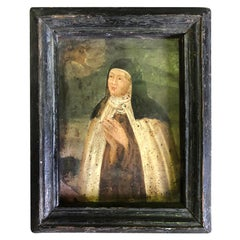 Spanish Early 18th Century Oil Painting