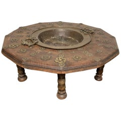 "Spanish Early 19th Century ""Brasero"" Firepit Table"