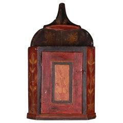 Spanish Hanging Corner Cupboard
