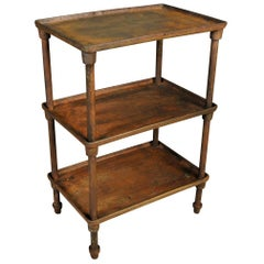 Spanish Industrial Side Table