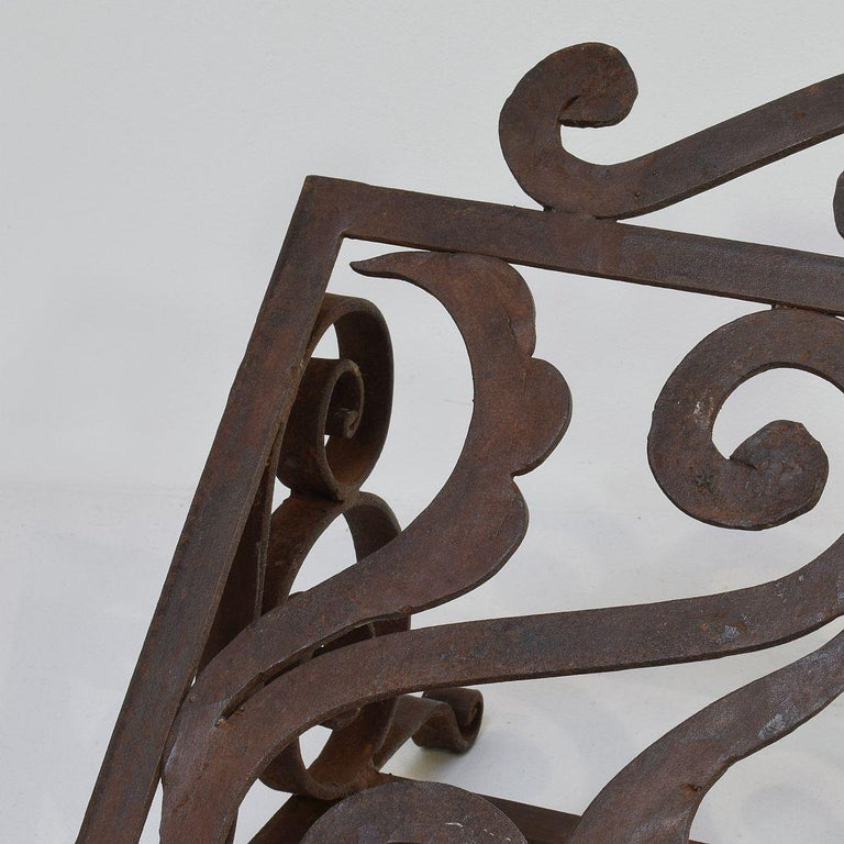 Spanish Late 19th Century Hand Forged Iron Lectern For Sale 7