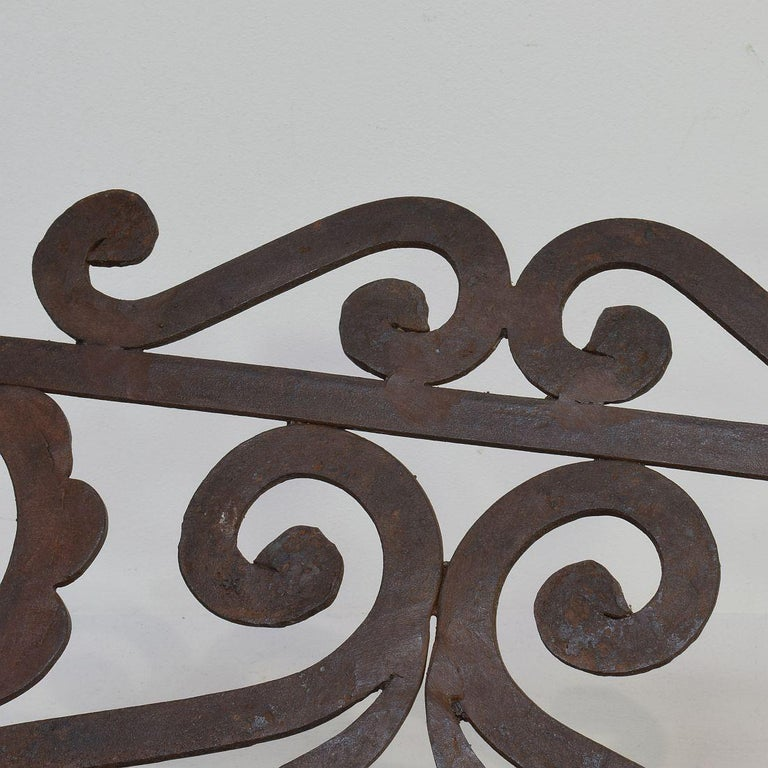 Spanish Late 19th Century Hand Forged Iron Lectern For Sale 8