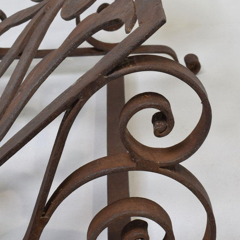 Spanish Late 19th Century Hand Forged Iron Lectern For Sale 9