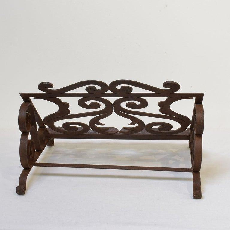 Spanish Late 19th Century Hand Forged Iron Lectern For Sale 3