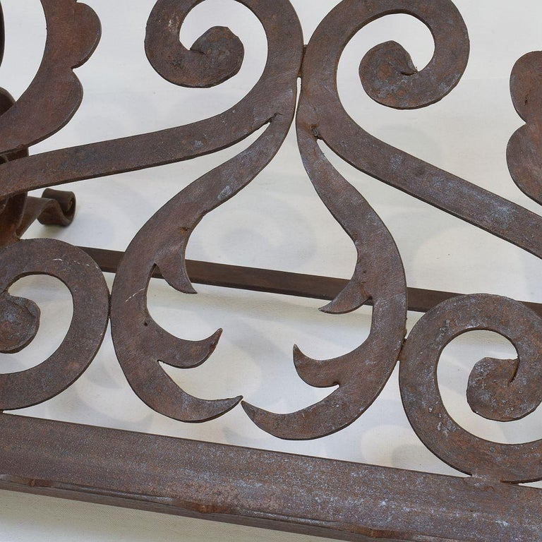 Spanish Late 19th Century Hand Forged Iron Lectern For Sale 6