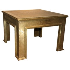 Spanish Midcentury Brass Coffee Table