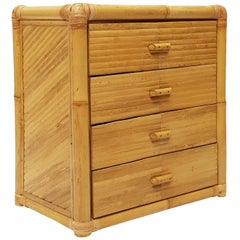 Spanish Midcentury Four-Drawer Chest of Drawers, circa 1980