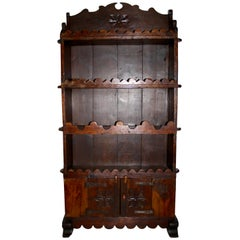 Spanish Oak Bookcase, circa 1895