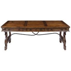 Spanish Oak Dining Table