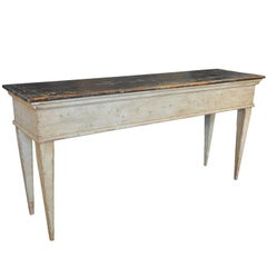 Spanish Painted Console Table