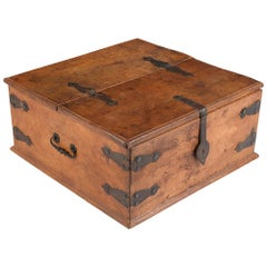 Spanish Leather Trunk
