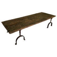 Spanish Primitive Table Basse, Coffee Table