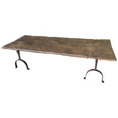 Spanish Primitive Table Base - Coffee Table