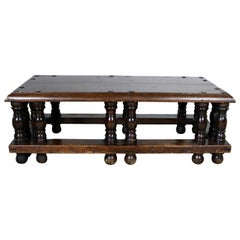 Spanish Revival Style Coffee Table Artes De Mexico Internacionales Attribution