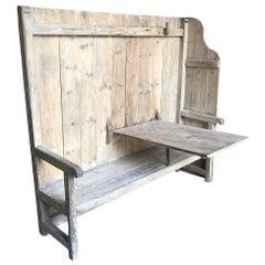 Spanish Rustic 18th Century Bench