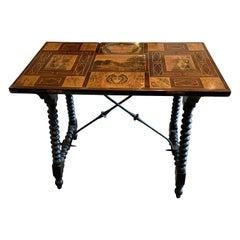 Spanish Side Table, circa 1890