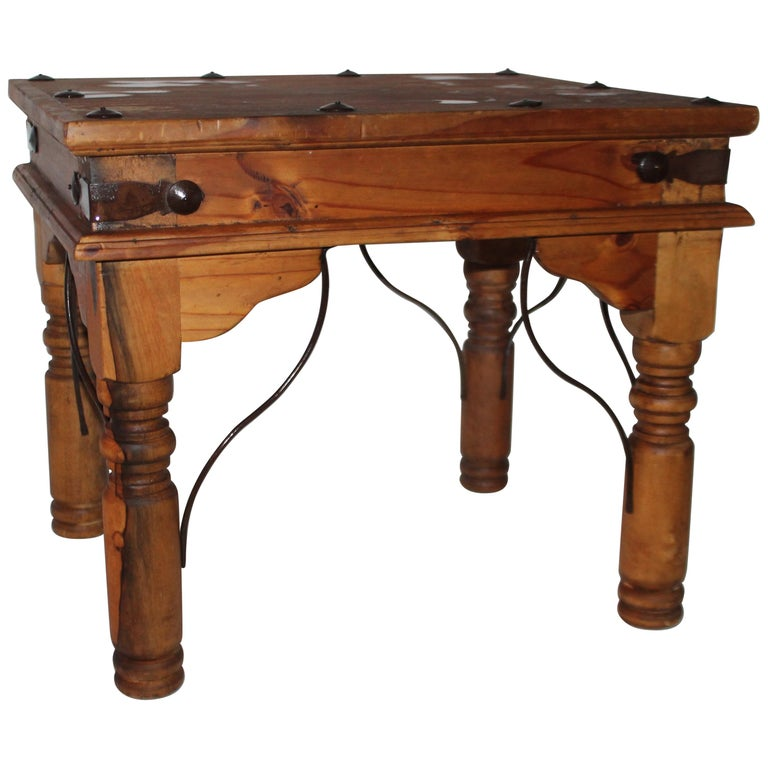 Spanish Side Table or End Table For Sale